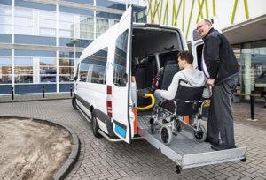 Van Wheel Chair Ramp